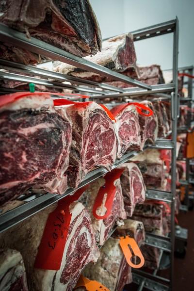 Dry aged Beef der Metzgerei Esser