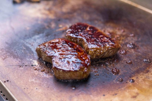 Honey glazed Büffel Roastbeef