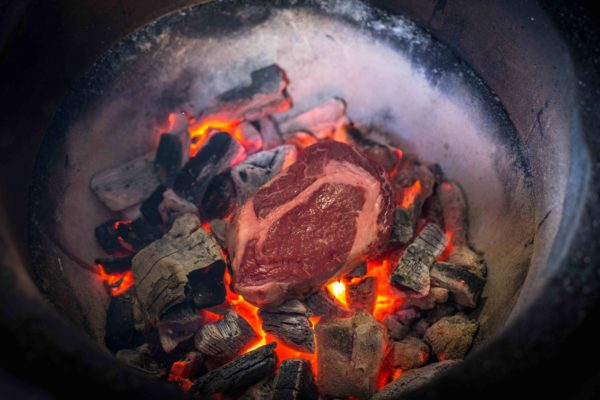 Steak Caveman Style