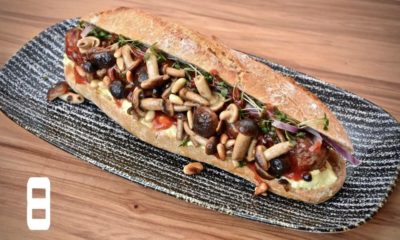 Rustikaler Hot Dog