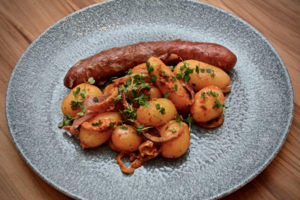Chorizo-Kartoffel Pfanne